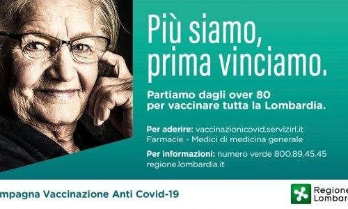 Emergenza Coronavirus - Campagna vaccinale over 80